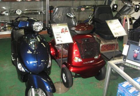 電動スクーター セニアカー エコ JSK 岐阜県