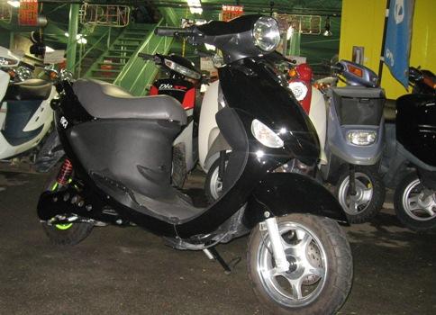 電動スクーター オートバイ 試乗車