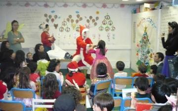 クリスマス会サンタ