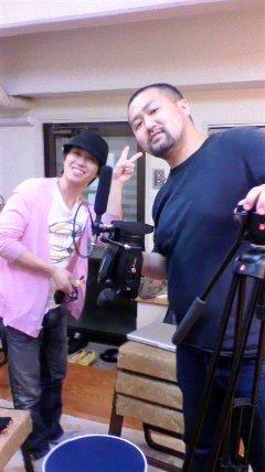 撮影 石井さんと内澤さん