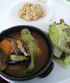 スープカレー 玄米