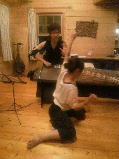 軽井沢 箏ダンス1