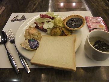 台中市 文華道會館 朝食ビュッフェ