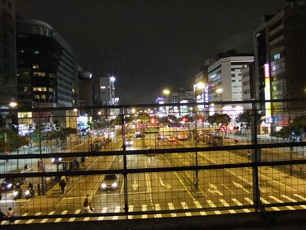 台北市 中華路陸橋から