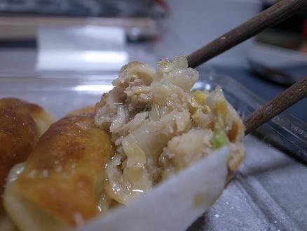 ゆめタウン別府店惣菜「自家製野菜餃子」2