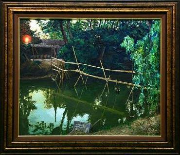 運河を渡る竹橋