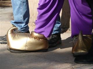 ミッキーの靴
