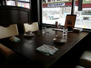 最後のテーブル