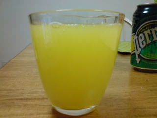 ジン+オレンジ+グレープフルーツ+炭酸