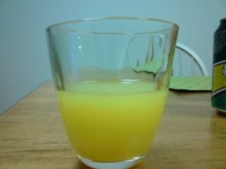 ジン+オレンジ
