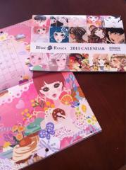 BlueRosesカレンダー