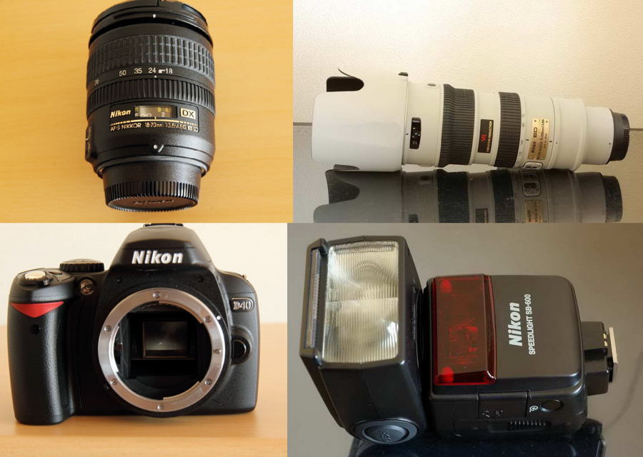 Nikon 機材 # 1