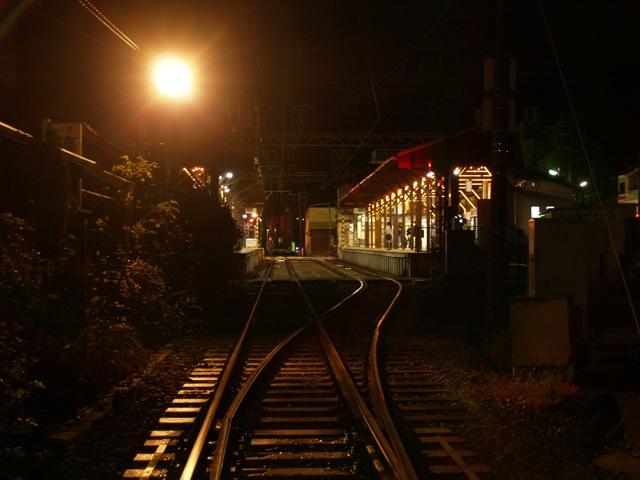 長谷寺紅葉ライトアップ2009