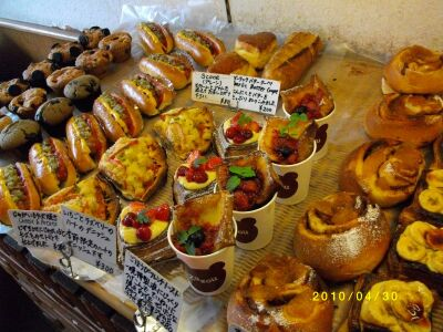 沖縄のパン屋さん