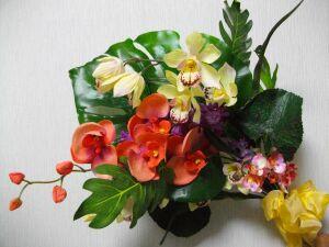 お花教室1