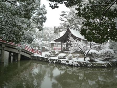 雪の太宰府