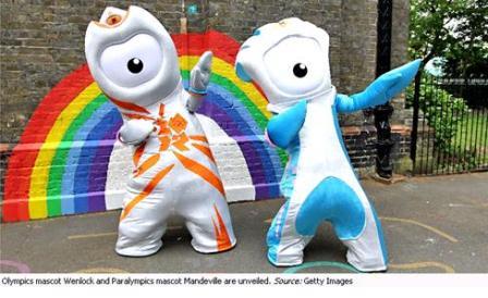 ロンドンオリンピックキャラクター