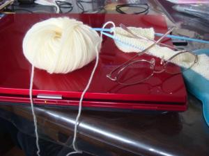 毛糸とパソコン