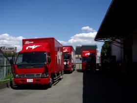 外のトラック