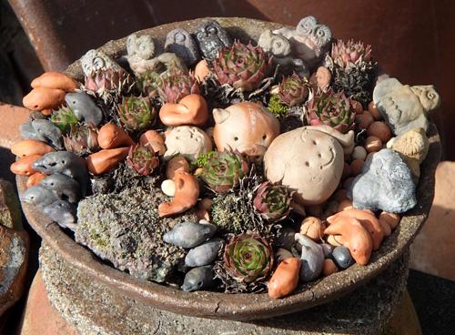 備前の小鉢