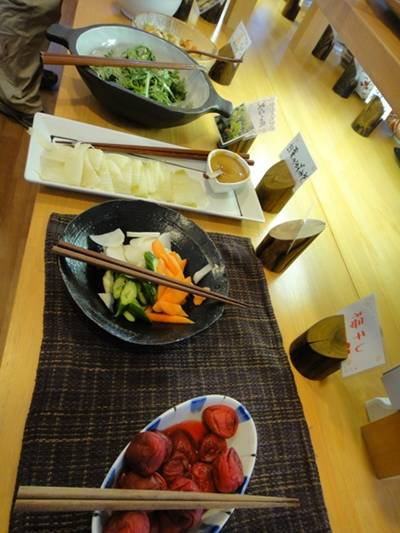 葉菜の舎 料理1