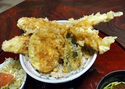 魚長 天丼