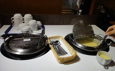 柿安バーグ スープb