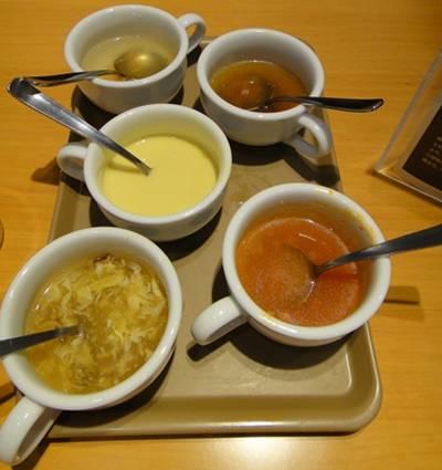 ステーキ宮 スープ