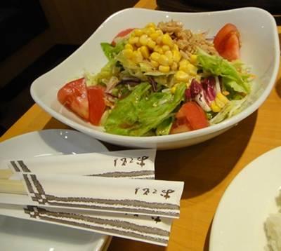 ステーキ宮 サラダ