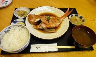 s 煮魚定食
