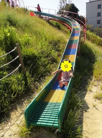 秋 岡崎 滑り台
