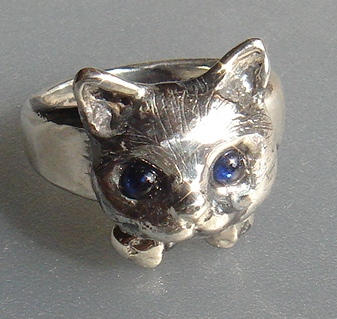 猫(ネコ)リング