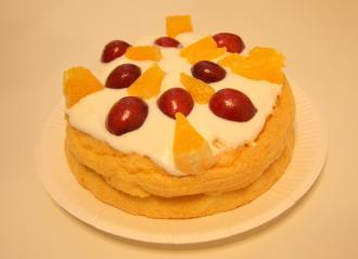 シェリー10誕生ケーキ