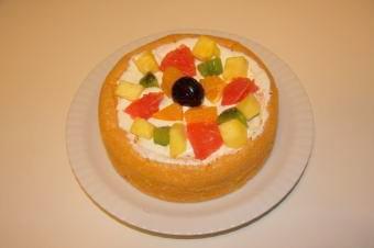 ミシェル1歳バースデーケーキ