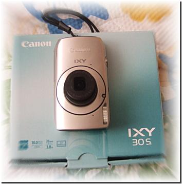 Canon IXY30s