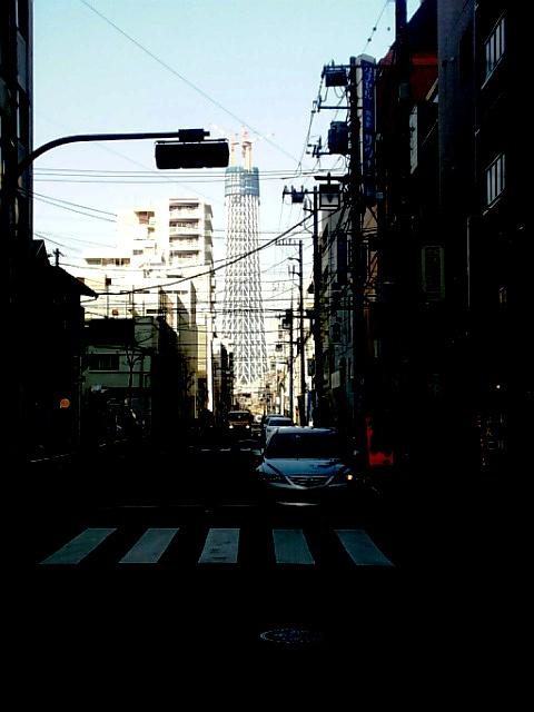 2月4日の東京スカイツリー