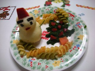 きぃちゃん(=^ェ^=)のクリスマスディナー