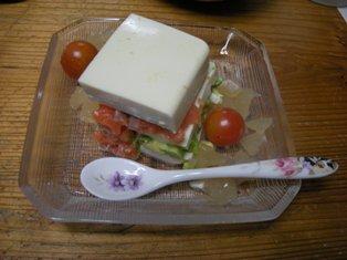 お豆腐のミルフィーユ