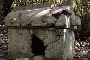 アルテミシア家?の石棺