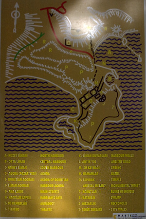 ファセリス遺跡地図