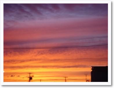 夕焼け 2010.9.24