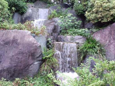 大仙公園日本庭園20100807 小