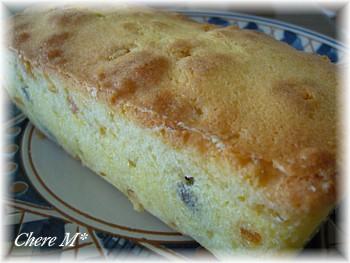 パウンドケーキ(フルーツ)①
