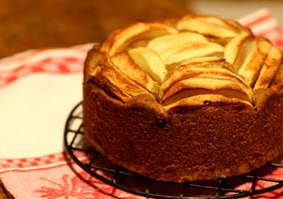 091112 りんごのケーキ