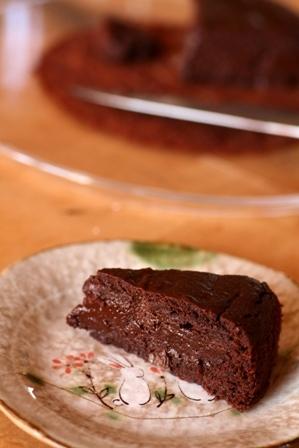 20110111 お米ガトーショコラ