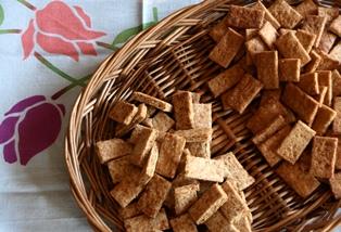 20110412 酒粕酵母と酒粕のクッキー