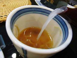 13-2-13 蕎麦湯