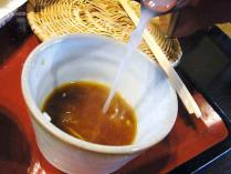 13-2-24 蕎麦湯