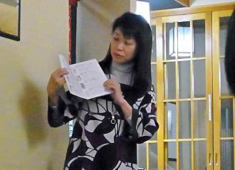 2013-2-22夜 利き酒師説明