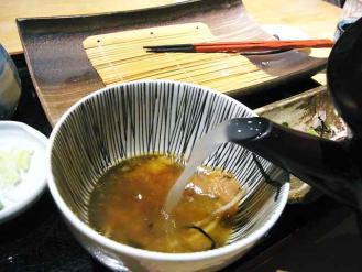 13-3-15 蕎麦湯